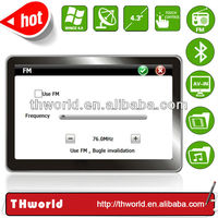 wholesale car gps navigation system with 800MHz CPU bluetooth av-in optional function