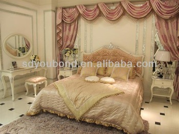 Yb09 High End Factory Manufacture Solid Wood Royal Furniture ...