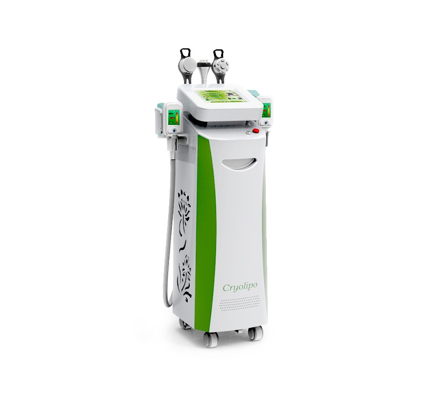 Five handles work together big promotion cryolipolysis body slimming machine
