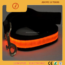 New arrival running led dog leash retractable