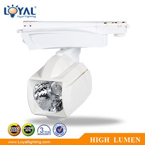 high lumen IP65 aluminum dimmable rechargeable moving head cob 5w 8w 10w 15w 18w 20w 25w 30w 35w 40w 45w led track spotlight