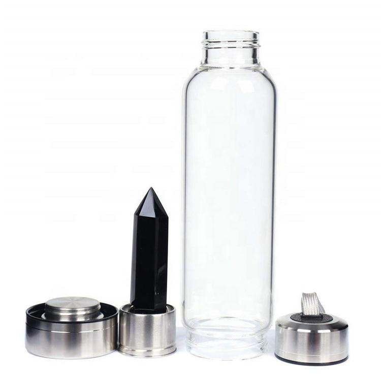 Drink empty bottles crystal water bottle, Customized