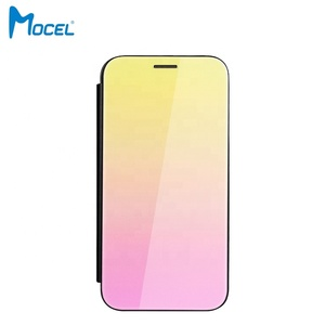 United Kingdom Factory Gradient Color Custom Leather Case for Xiaomi Redmi 5 Plus