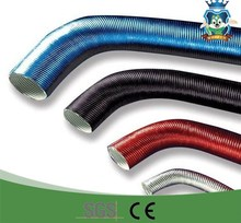 All sizes car engine aluminum foil and fiberglass duct pipe on automibiles