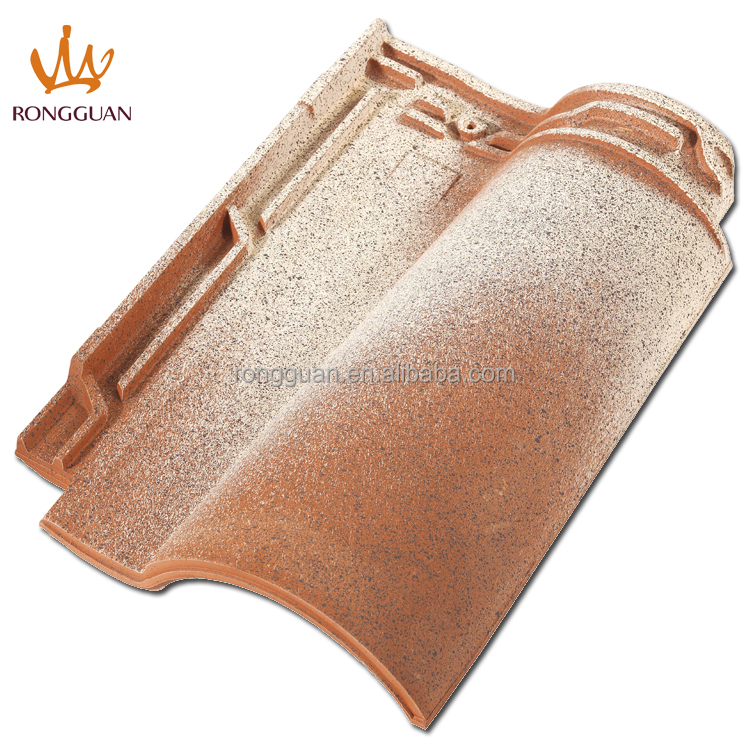 clay interlock roof tile building material (R1-A002)