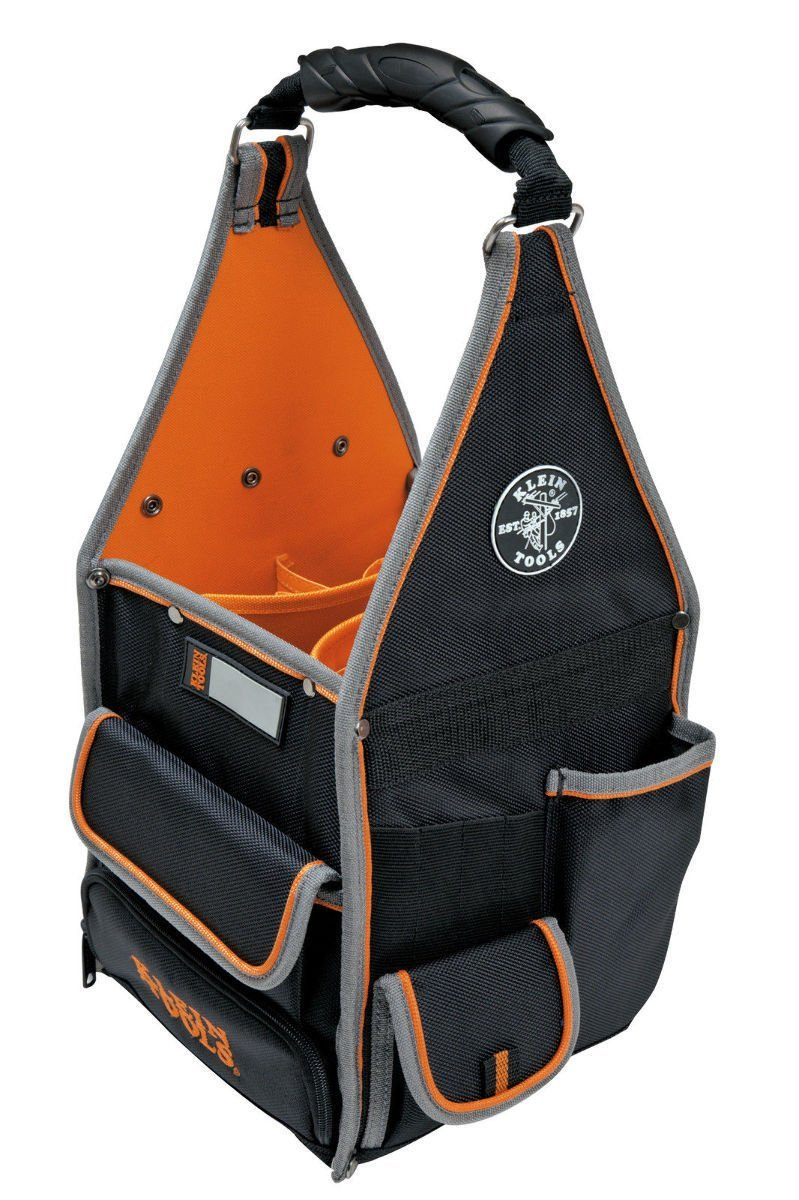 Klein Tools 55415-8 Tradesman Pro 8 Inch Tote Organizer With 20 Pockets