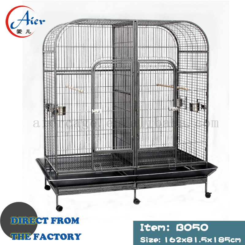 bird cage manufacturer supply large parrot cage