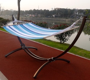 XY-DC002 durable steel frame hammock swing chair stand