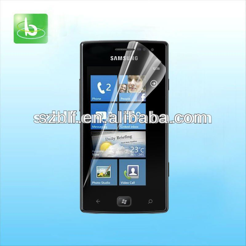 New cell phone screen protector for samsung omnia w i8350