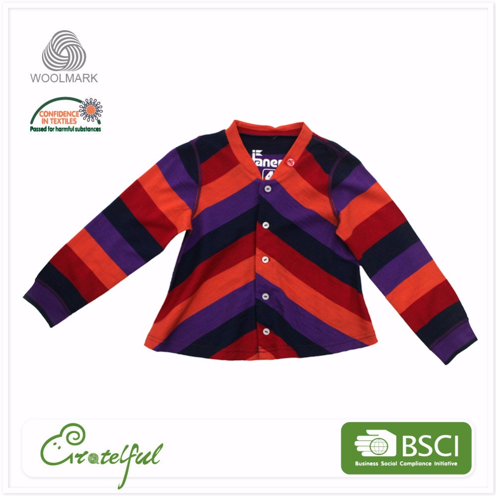 Wholesale kids knitted cotton girls cardigan baby winter warm clothes
