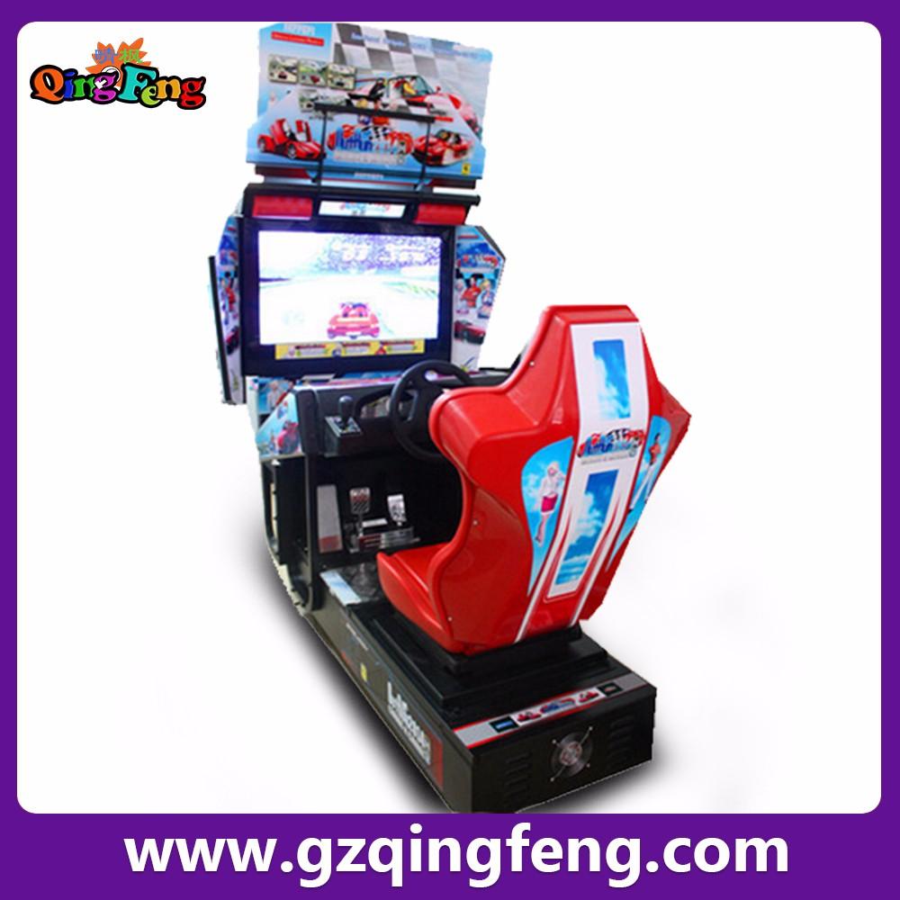 qingfeng luxe f1 4d voiture simulateur de course course d 39 arcade jeu de voiture machines de jeux. Black Bedroom Furniture Sets. Home Design Ideas
