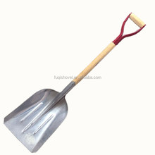 Aluminum snow shovel with Wooden handle S805-2Y