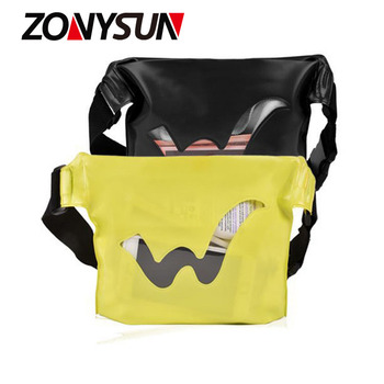 High Quality Waterproof Pvc Bag Custom Print Fanny Pack Pouch Wholesale