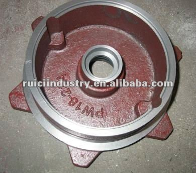 China manufacturer cast iron water pump cover