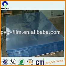 300 micron thin calender plastic printing clear colored pvc film offset transparent sheet