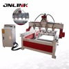 Good character woodworking cnc router/four heads four rotary Cylindrical Wood Carving 1525 cnc router 1325