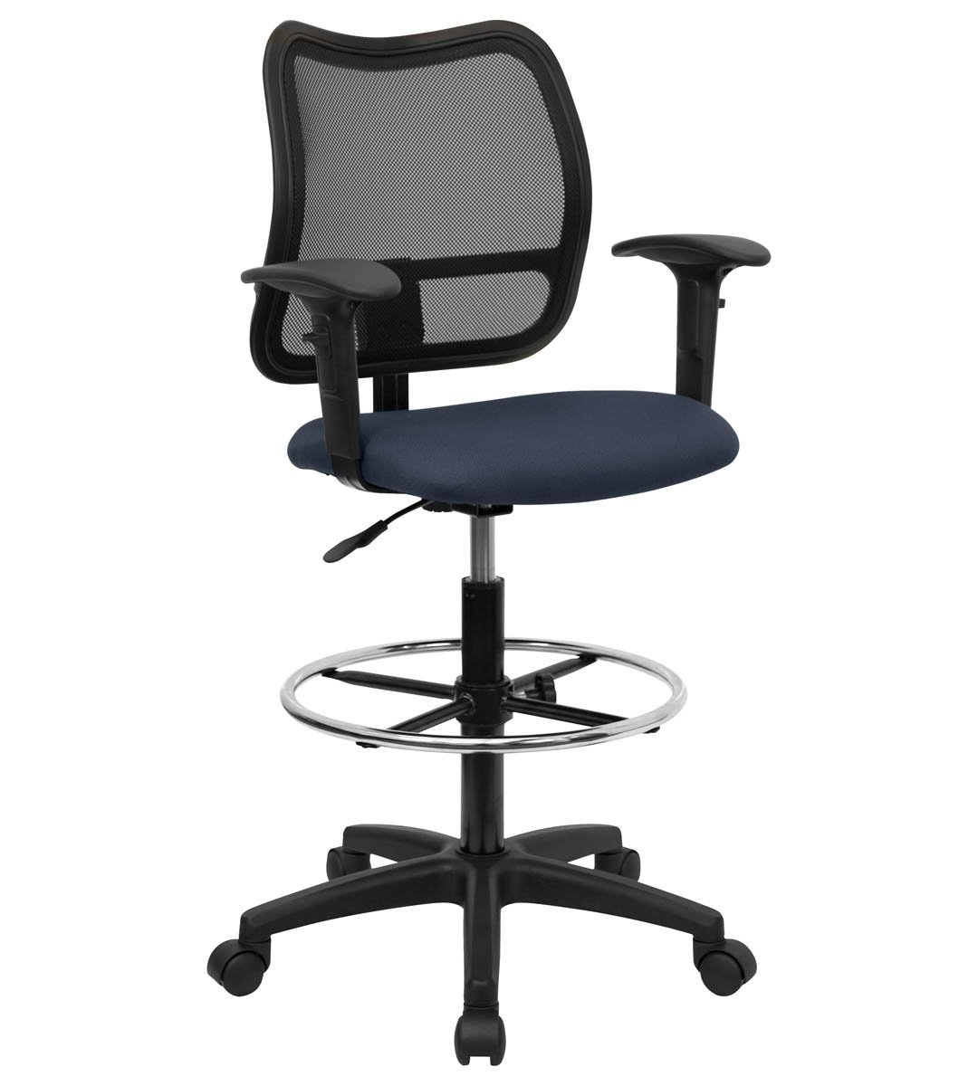 Performance Series Mid-Back Mesh Drafting Stool
