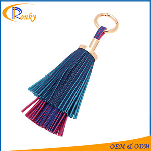 Novelty Gift Catalogs >> Novelty Gift Catalogs Ladies Wholesale Leather Tassels Keychain Manufacturers In China