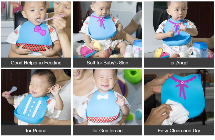 Eco-Firendly Easy Cleaning Waterproof Sublimation Baby Bib