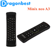 factory hot sales Minix neo A3 Wireless air mouse keyboard wireless with CE&ISO Keyboard Voice