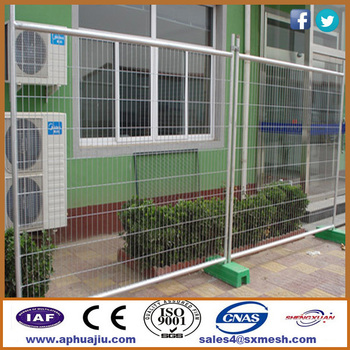 Removable Fence Post temporary yard fencing / 6ft temporary fencing panels / removable