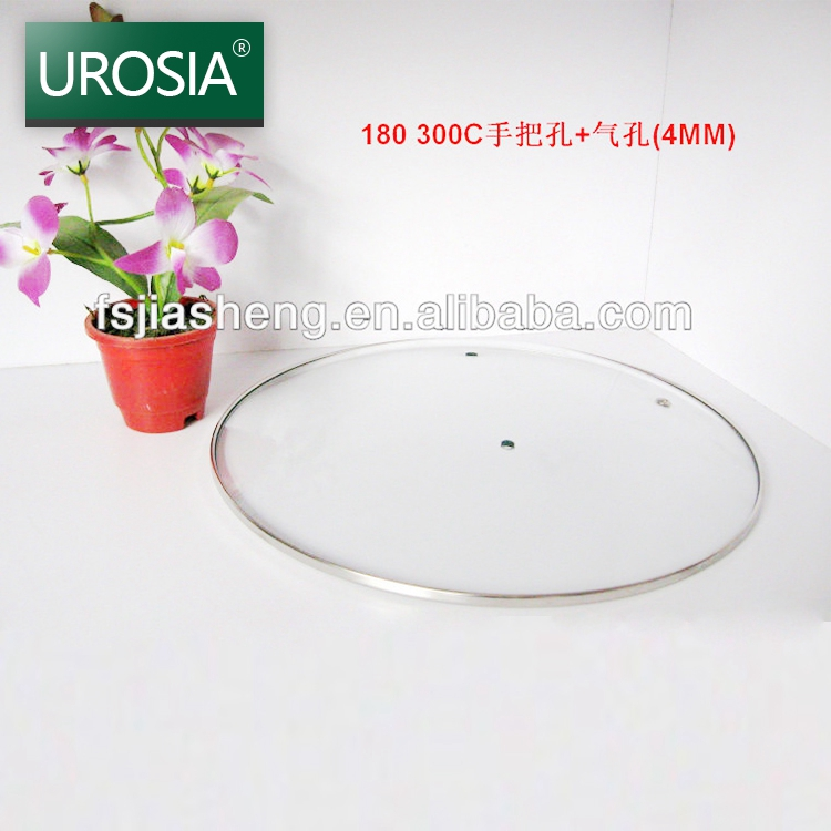 china clear high dome round toughened glass pot lid cover cookware heat resistant tempered glass lid for pots