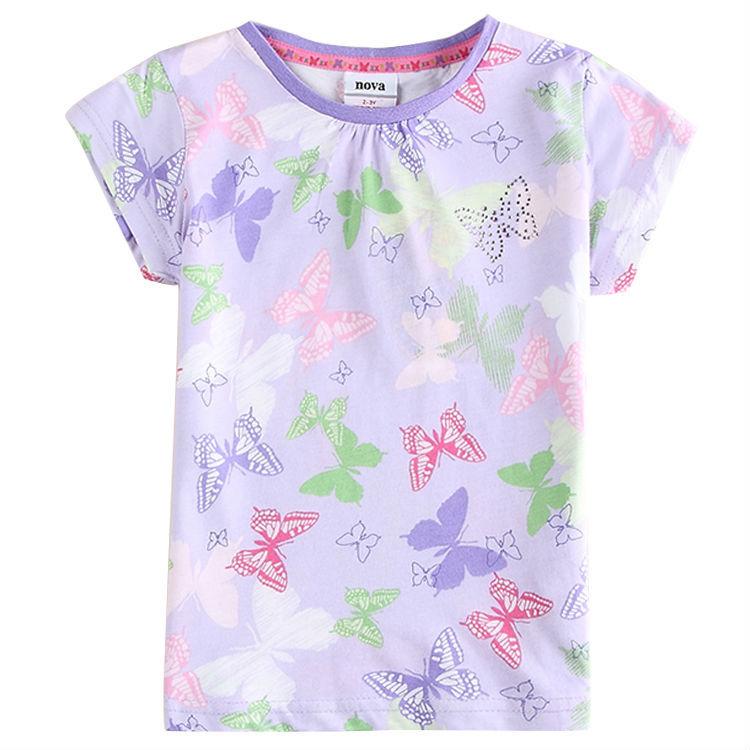 Retail Can Choose The Size Nova Brand Kids Clothes Summer T Shirt Roupa Infantil Baby