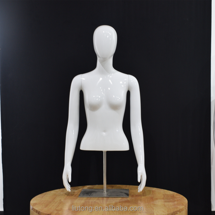 Abs resin material, ms half - body Mannequin with iron plate