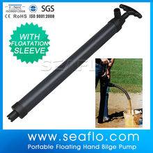Plastic SEAFLO Hand Pump High Pressure Piston Pump For Canoes