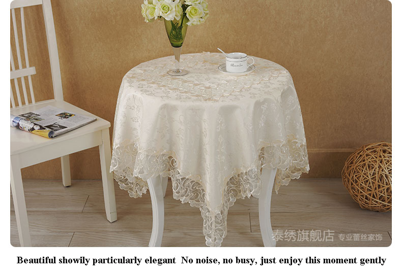popular knitted table cloth buy cheap knitted table cloth lots from china knitted table cloth. Black Bedroom Furniture Sets. Home Design Ideas