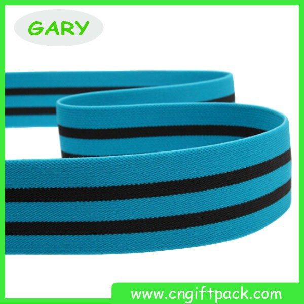 Flat Polyester Small Waxed Bungee Cord for Garment