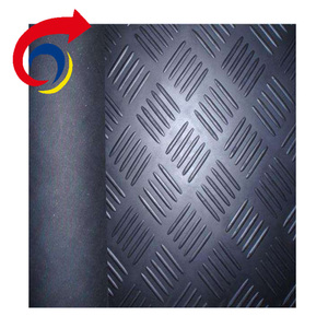 Thin insulating floor mat rubber