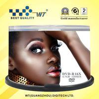 wholesale dvd WT Brand 16X 4.7GB 120MIN wholesale blank dvd