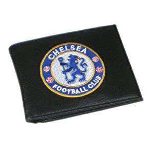 Chelsea F.C. Chelsea Fc Leather Wallet Crest Football