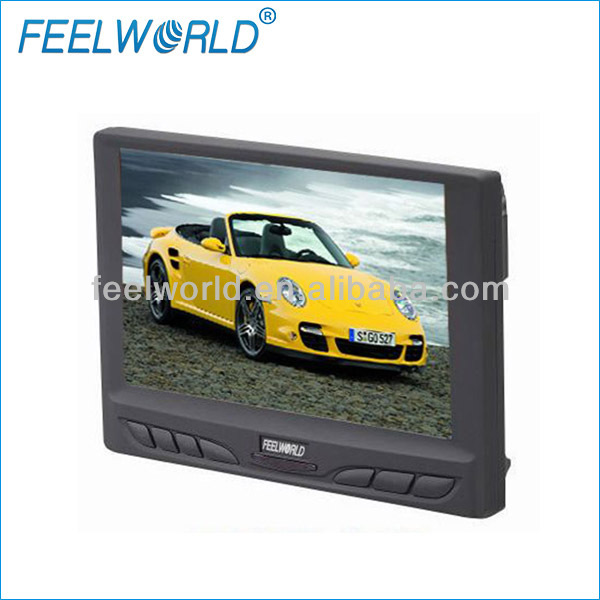 7 inches tft lcd color monitor with touch screen for car satellite navigation