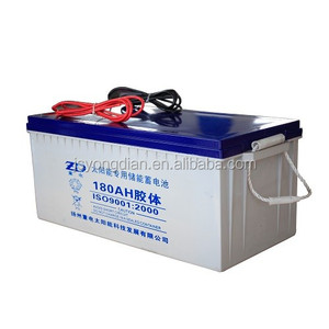 high temperature resistant deep cycle solar battery 12v 180ah