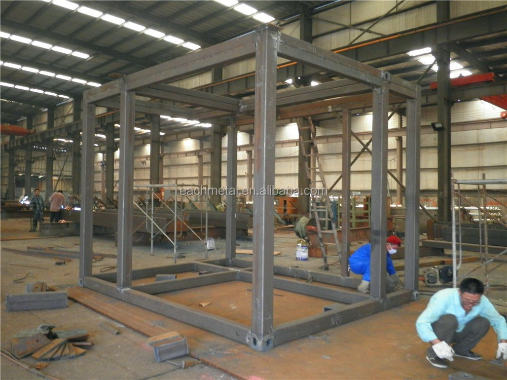 Customzied prefab steel structure products