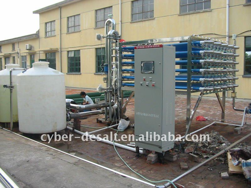 10m3 Oil field water reinjection treatment plant