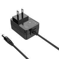 Leading Manufacture ac dc power adapter 5V 1A 5V2A 9V 1A 12V 1A with UL CE UK approvals EN60335/EN60950/UL1310