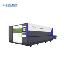 Hanslaser G3015MF 2KW metal laser cutting machine for stainless steel/carbon/sheet steel/SS/aluminum laser cutting
