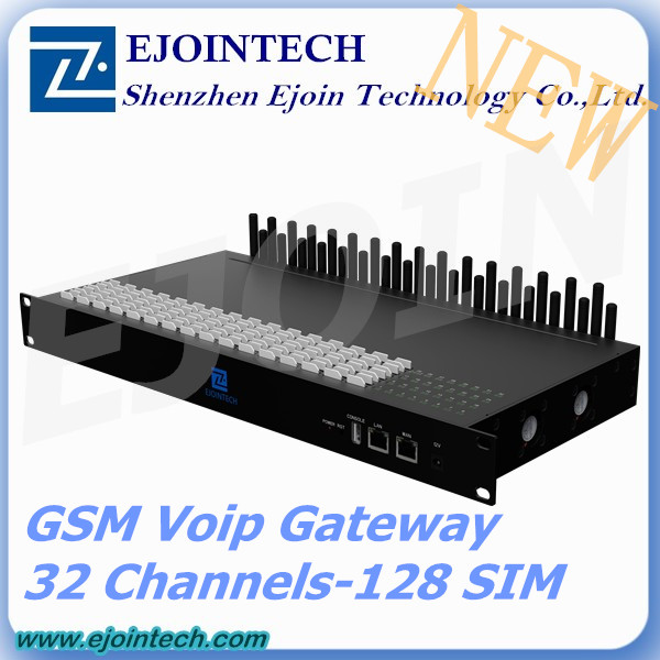 Customized IVR 32 ports GSM Gateway,32 ports GOIP Gateway Support SIP & SMS & USSD embedded voip system