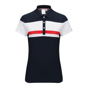 2019 Hot Selling Cheap Wholesales 100% Polyester Pique Dry Fit Plain Fashion Splice Comfortable Knit Men Gym Golf Polo Shirts