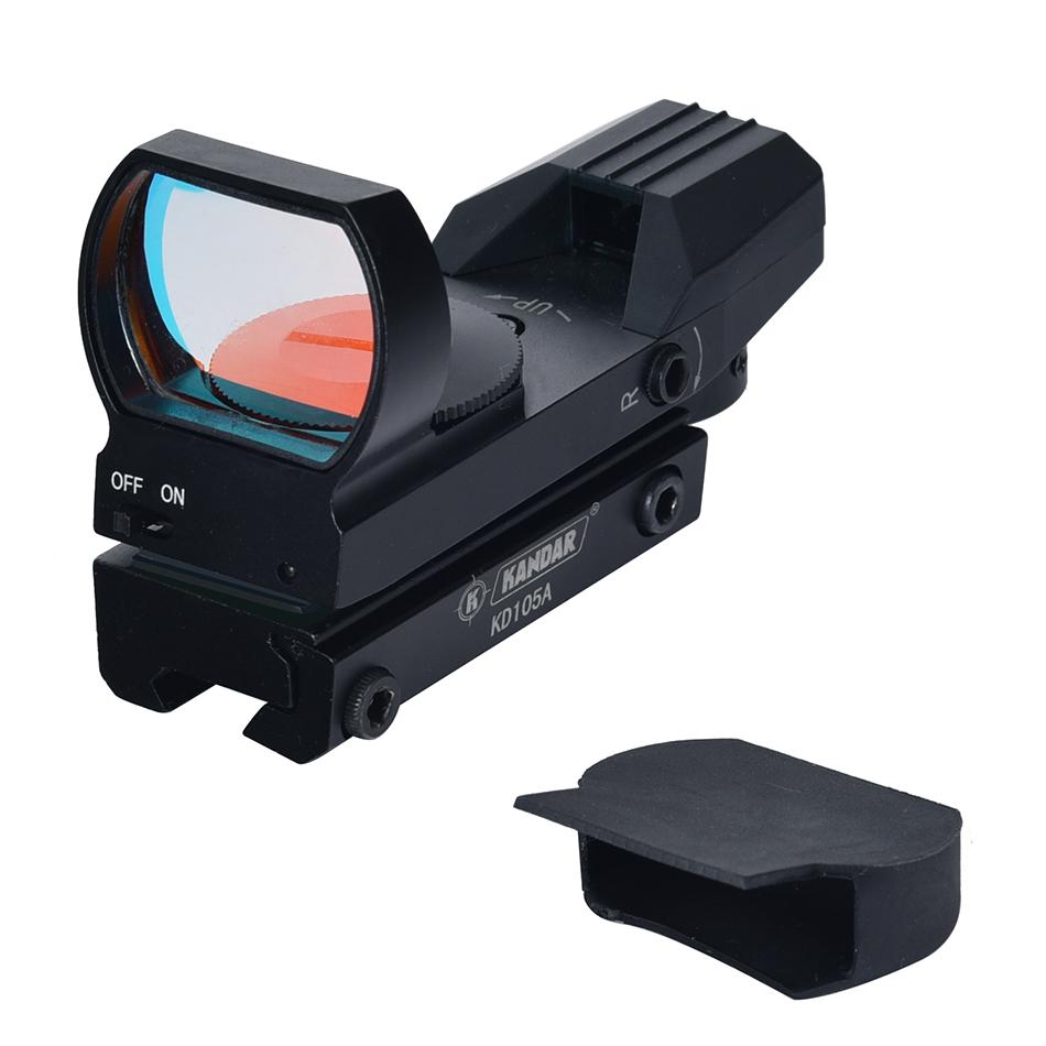 KANDAR reflex Hunting riflescope Supplier air gun sight red green dot sight