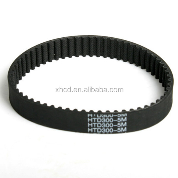 HTD5M industrial rubber timing belts
