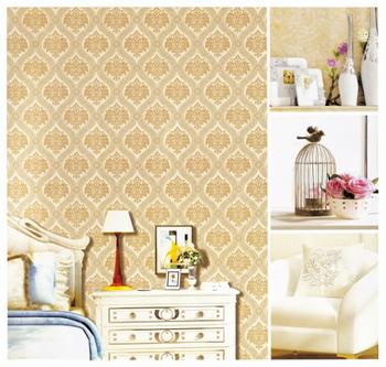 Hot Salechinoiserie Moisture Resistant Woven Wallpaper