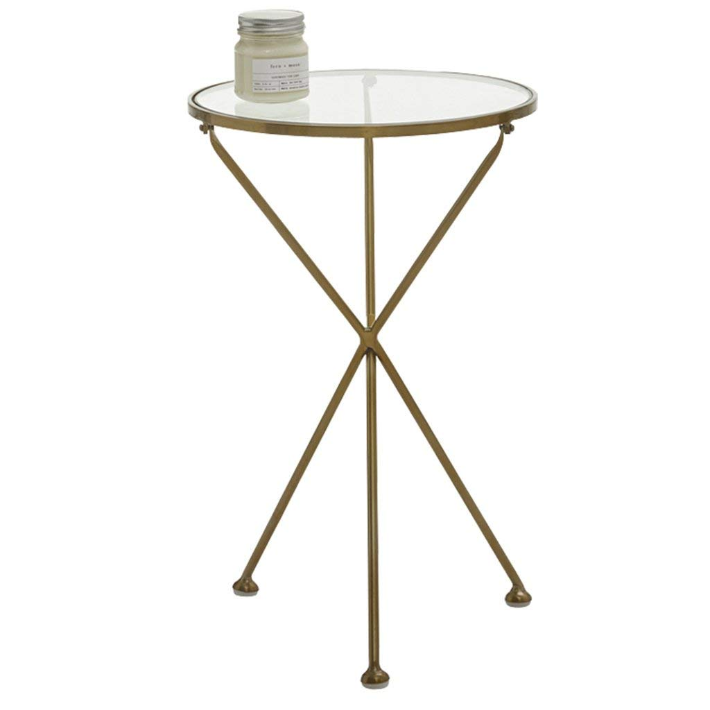 Coffee Tables Small Table Golden Wrought Iron Corner Sofa Side Table Bedside Cabinet