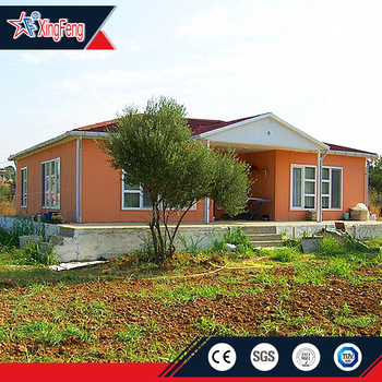 Fashion style prefab homes light steel villa for sale/prefab mobile homes/prefab house