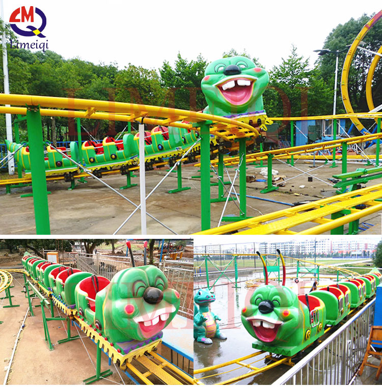Limeiqi amusement park rides indoor roller coaster indoor for kids portable amusement kids carnival rides