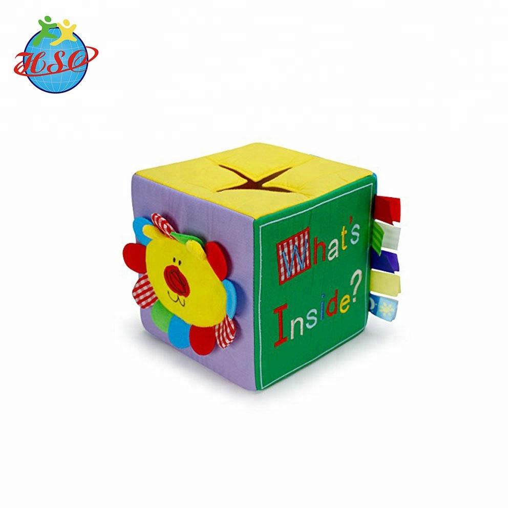 Baby Learning Education Soft Toys Plush Alphabet Dice Cube ...