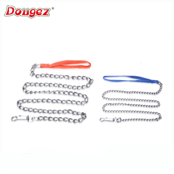 Hot sale Fully stocked factory supply metal dog chain, decorative metal chain with 2hours replied